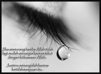 Manfaat yang didapatkan setelah menangis